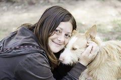 Персона гончей собаки Стоковая Фотография RF