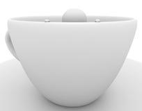 персона кофейной чашки Стоковые Изображения