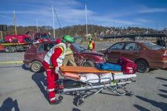 Проводят координируемую спасательную операцию, фото 20 Стоковые Фотографии RF