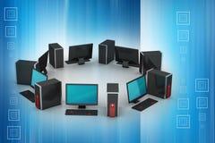 Персональный компьютер Стоковые Изображения