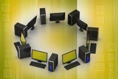Персональный компьютер Стоковая Фотография RF