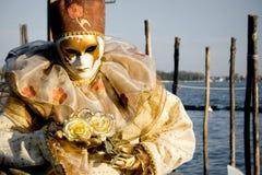 персона venice маски масленицы Стоковое фото RF