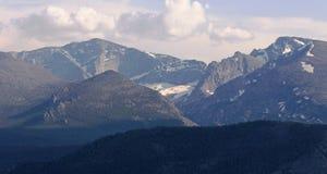 Перспектива горы парка скалистой горы стоковые изображения rf