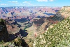 Перспектива грандиозного каньона Стоковые Изображения