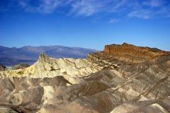 перспектива долины национального парка смерти сценарная Стоковые Изображения RF