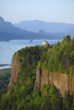 перспектива дома gorge columbia Стоковые Изображения RF