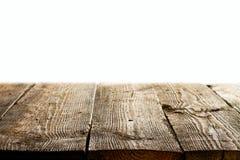 Перспектива деревянных доск Стоковое Изображение RF