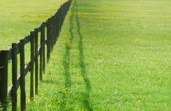 перспектива загородки Стоковые Фотографии RF