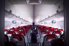 Перспектива изнутри самолета Стоковое Изображение