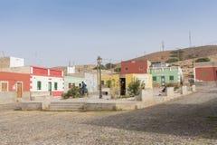 Перспектива Кабо-Верде горжетки деревни Bofareira стоковая фотография rf