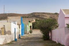 Перспектива Кабо-Верде горжетки деревни Bofareira стоковая фотография