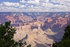 перспектива каньона грандиозная стоковая фотография rf
