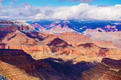 перспектива каньона грандиозная Стоковое фото RF