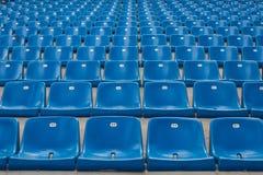 Перспектива много пустых мест стадиона Стоковое Изображение RF