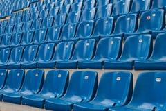 Перспектива много пустых мест стадиона Стоковые Фотографии RF