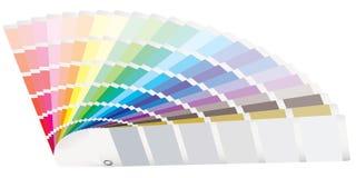 перспектива направляющего выступа цвета Стоковое Изображение RF