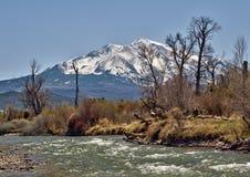 перспектива национального парка горы утесистая Стоковые Фото