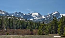 перспектива национального парка горы утесистая Стоковая Фотография RF