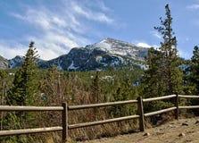 перспектива национального парка горы утесистая Стоковое фото RF