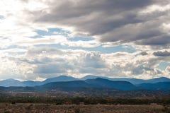 Перспектива облаков шторма Стоковое фото RF