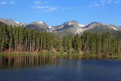 Перспектива озера Sprague стоковая фотография rf