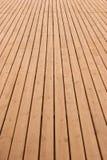 перспектива палубы деревянная Стоковое Изображение RF