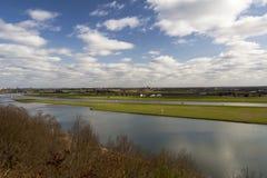 перспектива реки Стоковые Изображения RF