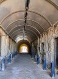 Перспектива тоннеля китобойного судна: Fremantle, западная Австралия Стоковые Фото