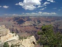 перспектива 2 каньонов грандиозная Стоковая Фотография
