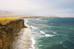перспектива paracas скалы Стоковая Фотография