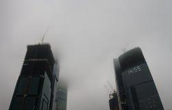 перспективности индустрий дела туманные стоковое фото