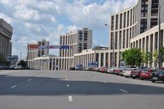 Перспективность Sakharov Academician в Москва стоковая фотография