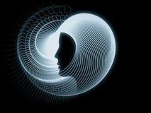 Перспективы геометрии души Стоковое Фото