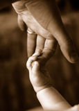 перста младенца Стоковая Фотография RF