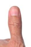Перст большого пальца руки Стоковые Фотографии RF