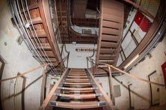 ПЕРТ - АВСТРАЛИЯ - 20-ое августа 2015 - тюрьма Fremantle теперь открыта к публике стоковые изображения rf