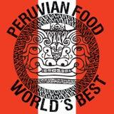 Перуанская иллюстрация еды Стоковая Фотография RF