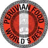 Перуанская иллюстрация еды Стоковые Изображения RF