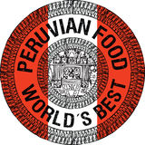 Перуанская иллюстрация еды Стоковое Изображение