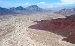 Перуанская пустыня Nazca Стоковые Фотографии RF