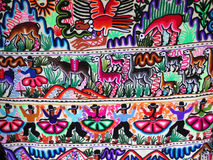 Перуанская ручной работы шерстяная ткань стоковое фото rf