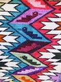 Перуанская ручной работы шерстяная ткань Стоковая Фотография RF