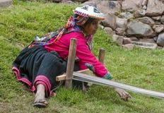 перуанская сотка женщина Стоковая Фотография RF