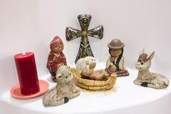 Перуанская сцена рождества Стоковые Фотографии RF