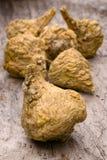 Перуанские женьшень или maca (meyenii Lepidium) Стоковая Фотография RF