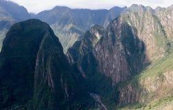 Перуанские пики стоковая фотография