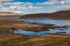 Перуанский андийский ландшафт стоковые фото