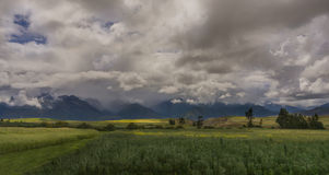 Перуанский ландшафт стоковые фото