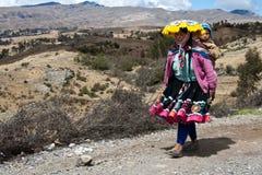 Перуанский крестьянин Стоковое Изображение