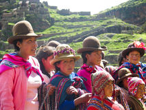 Перуанский мальчик стоковое фото rf